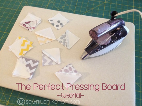 DIY - The Perfect Pressing Board