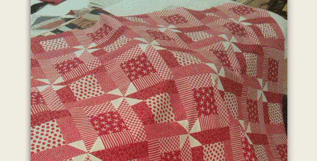 Rhonda's Red Quilt