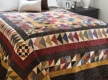Scrap Gathering Quilt Pattern