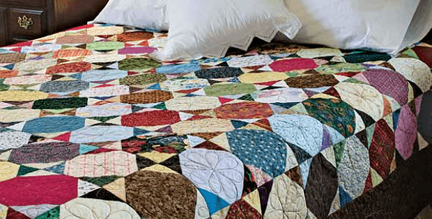 Snippets and Bits Scrap Quilt