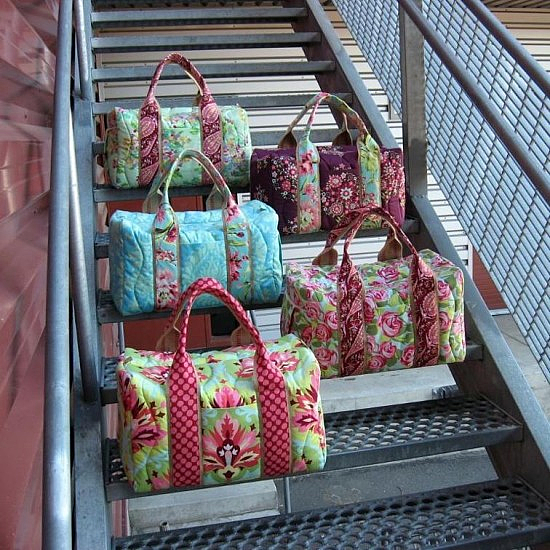 Travel Duffel Pattern
