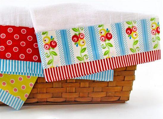 Fancy Border Tea Towels