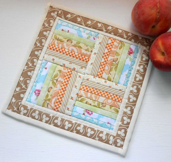 Rail Fence Mini Quilt