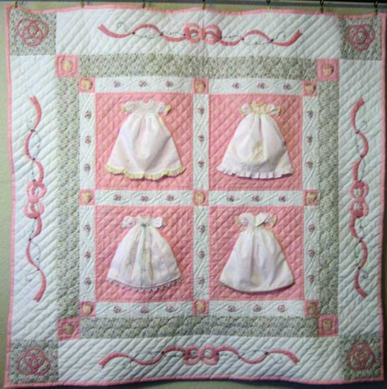 Tiny Dresses Make A Sweet Heirloom Quilt Quilting Digest