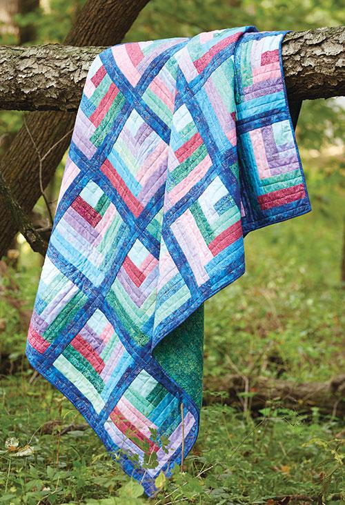 Maggie's Rainbow Quilt