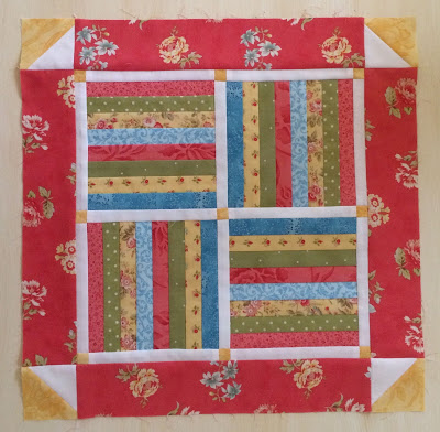 Rail Fence Small Quilt