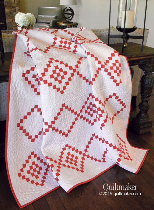 Candy Cane Crush Quilt
