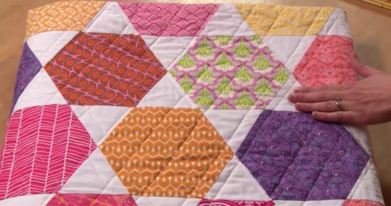 Hexie Bed Quilt Online Class for Beginners