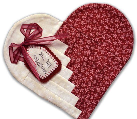 Heart Mug Rug