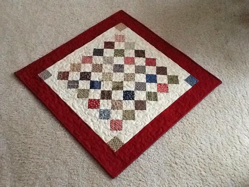 Mini Charm Square Table Topper
