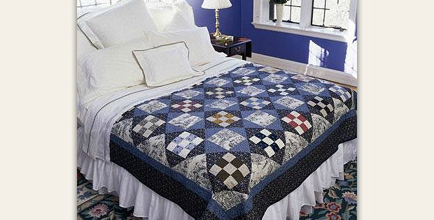 Checkerboard Squares Quilt