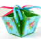 Fabric Gift Basket