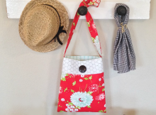 Fat Quarter Shoulder Bag