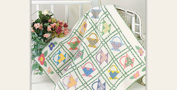 Grandma's Baskets Quilt Pattern