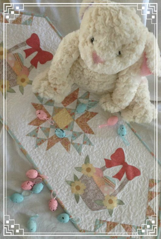 Easter Bounty Table Runner