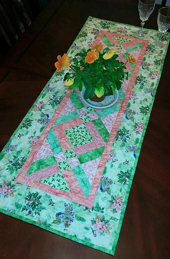 Licorice Twist Table Runner Pattern