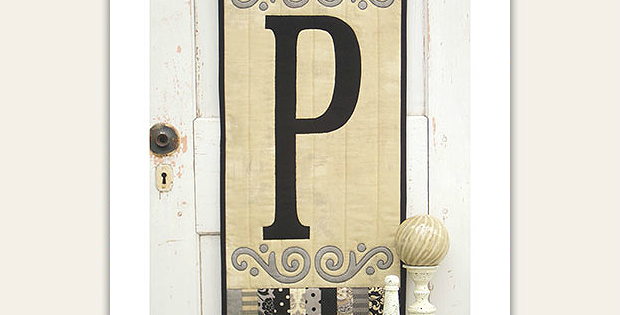 Initial Greeting Wall Hanging