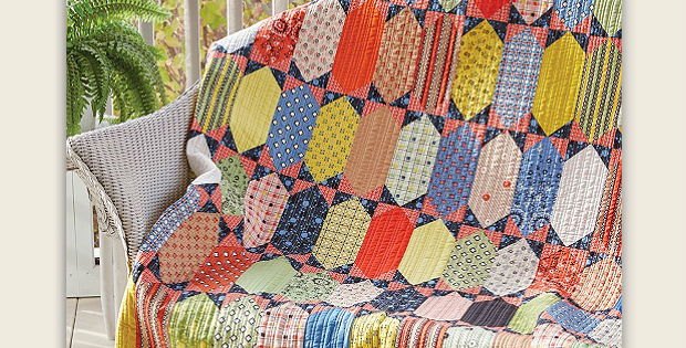 Once in a While Quilt Pattern