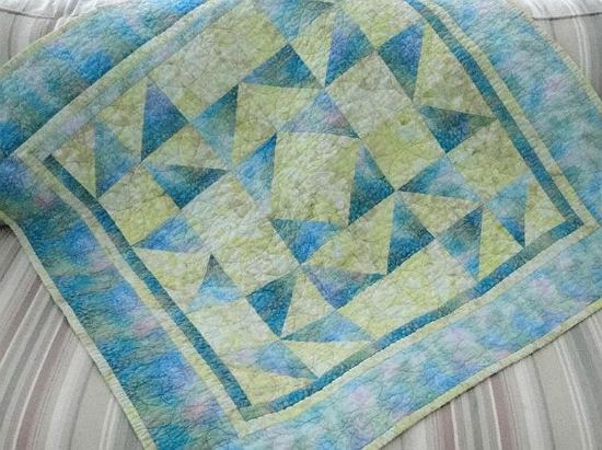 Peek-a-Boo Baby Quilt Pattern