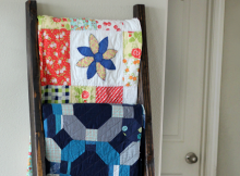 DIY Quilt Ladder