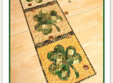 Patchwork Sharmrock Table Runner