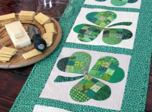 Shamrock Table Runner