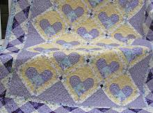 Violet's Valentine Quilt Pattern
