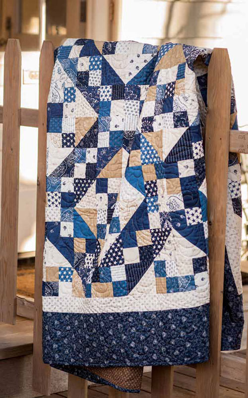 Jacob's Ladder Quilt