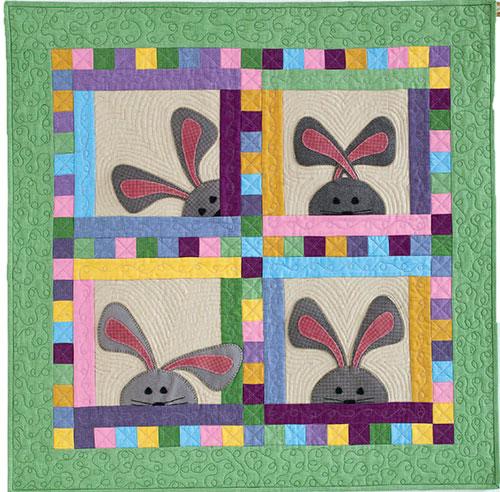 Peek-a-Boo-Bunnies Quilt