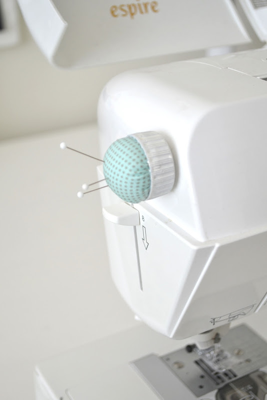 Stick a Little DIY Pincushion to Your Machine - Quilting Digest