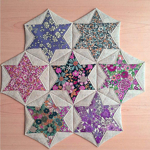 Folded Hexagon Stars
