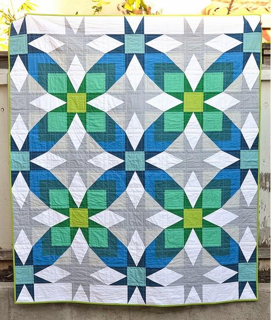 The Glenda Quilt Pattern