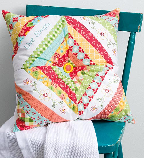 Sew This and That! Patchwork Pillow Pattern
