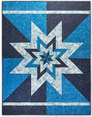 Big Star Chevron Quilt Pattern