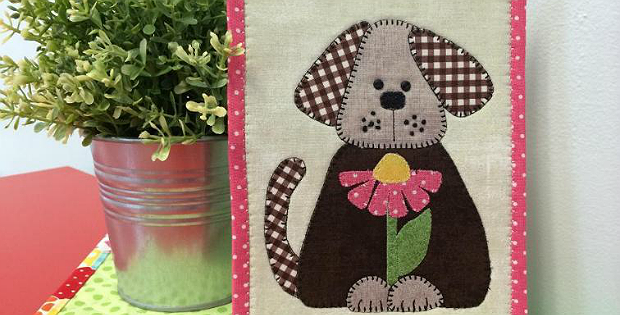 Daisy Doggy Mug Rug Pattern