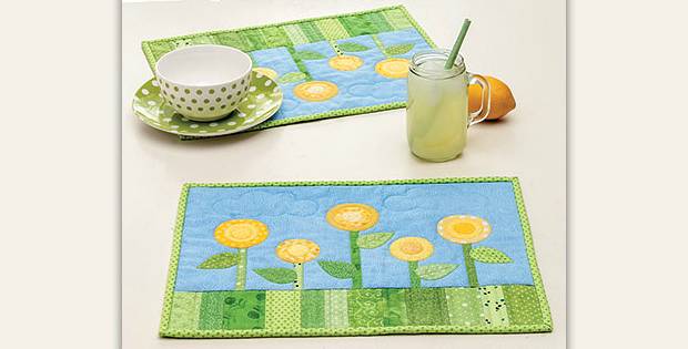 Flowering Place Mats Pattern
