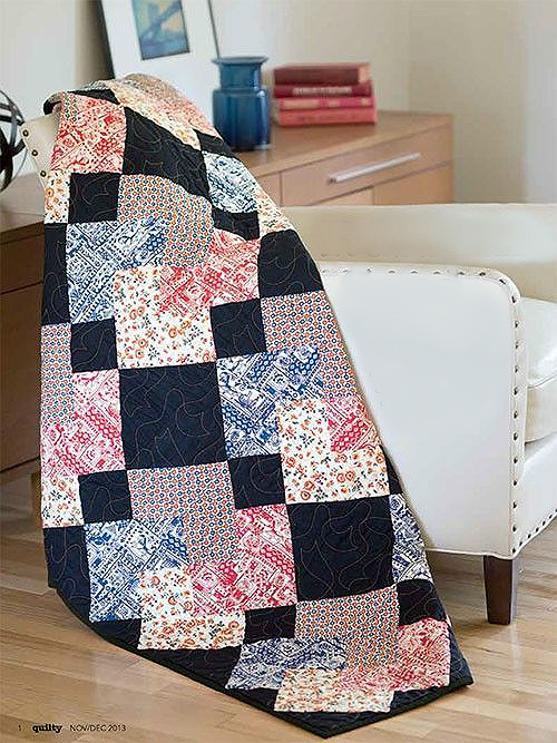 Russian Card Trick Quilt Pattern