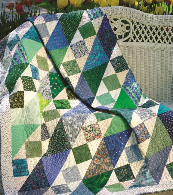Squares and Triangles Quilt