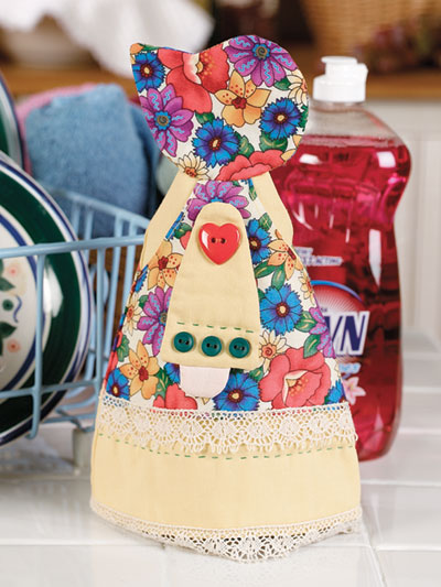 Sunbonnet Sue in the Kitchen Pattern