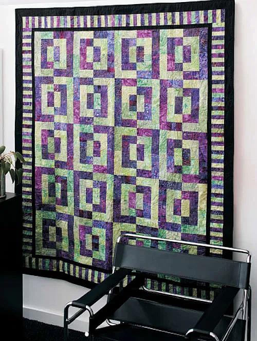 Batik Magic Quilt Pattern