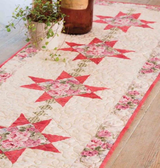 Peaceful Hours Table Runner