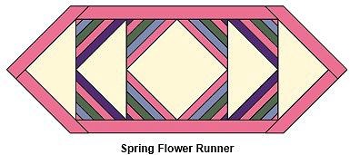 Spring Flower Runner