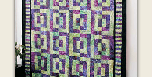 Batik Magic Quilt Pattern