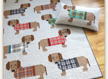 Dogs in Sweaters Quilt