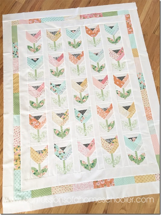 Dutch Tulips Quilt Pattern