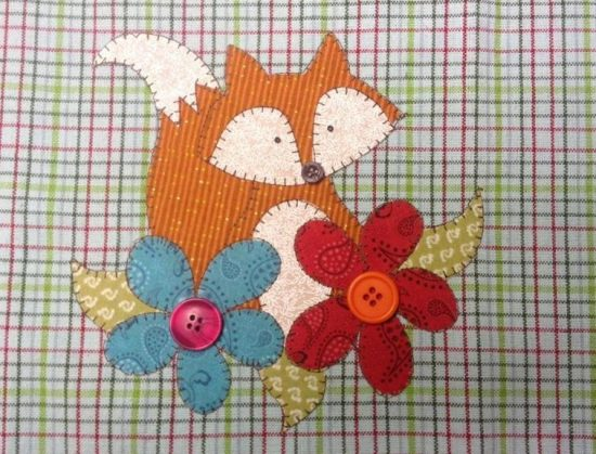 Garden Visitor Applique Pattern