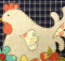 Hen Applique Pattern