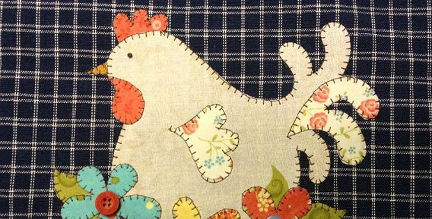 Make tea towels special with applique designs quilting digest
