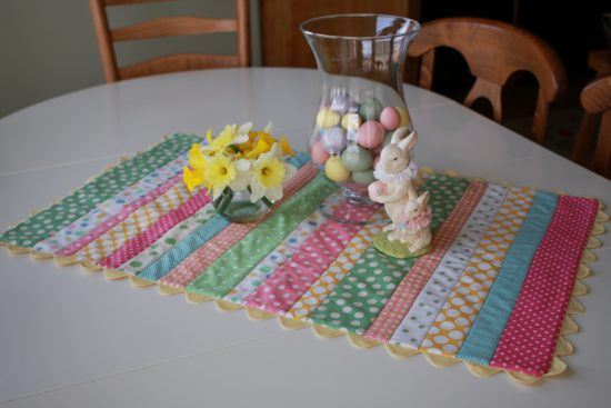 Easy Easter Table Runner