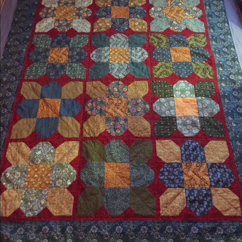 Two Easy Blocks Make Beautiful Flowers Quilting Digest